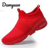 Damyuan/Новинка 2019 года; модная классическая обувь; Мужская обувь; удобная дышащая повседневная легкая обувь из некожи; Flyweather