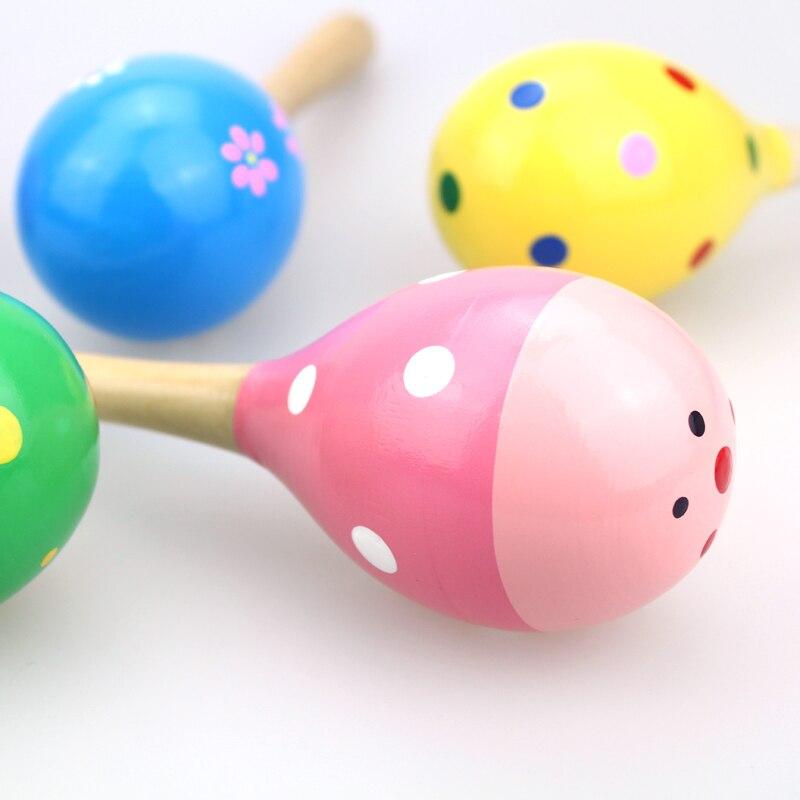 Купить с кэшбэком Baby toy doll musical instrument wooden rattle baby toy child baby shake music toy child gift toy shake ballot
