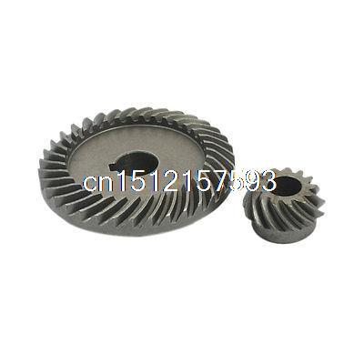 2 Set Power Tool Spiral Bevel Gear for LG 100 Angle Grinder electric power tool hand drill 44mmx14 5mm bevel gear pinion set for dragon 04 10a