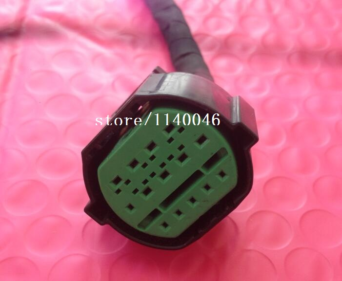 1PCS FOR Hyundai / Kia headlight Plug connector / connectors / 14p  used [vk] 553602 1 50 pin champ latch plug screw connectors