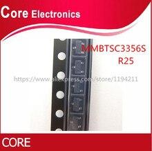 3000pcs SOT 23 MMBTSC3356S SC3356S R25 NPN טרנזיסטור