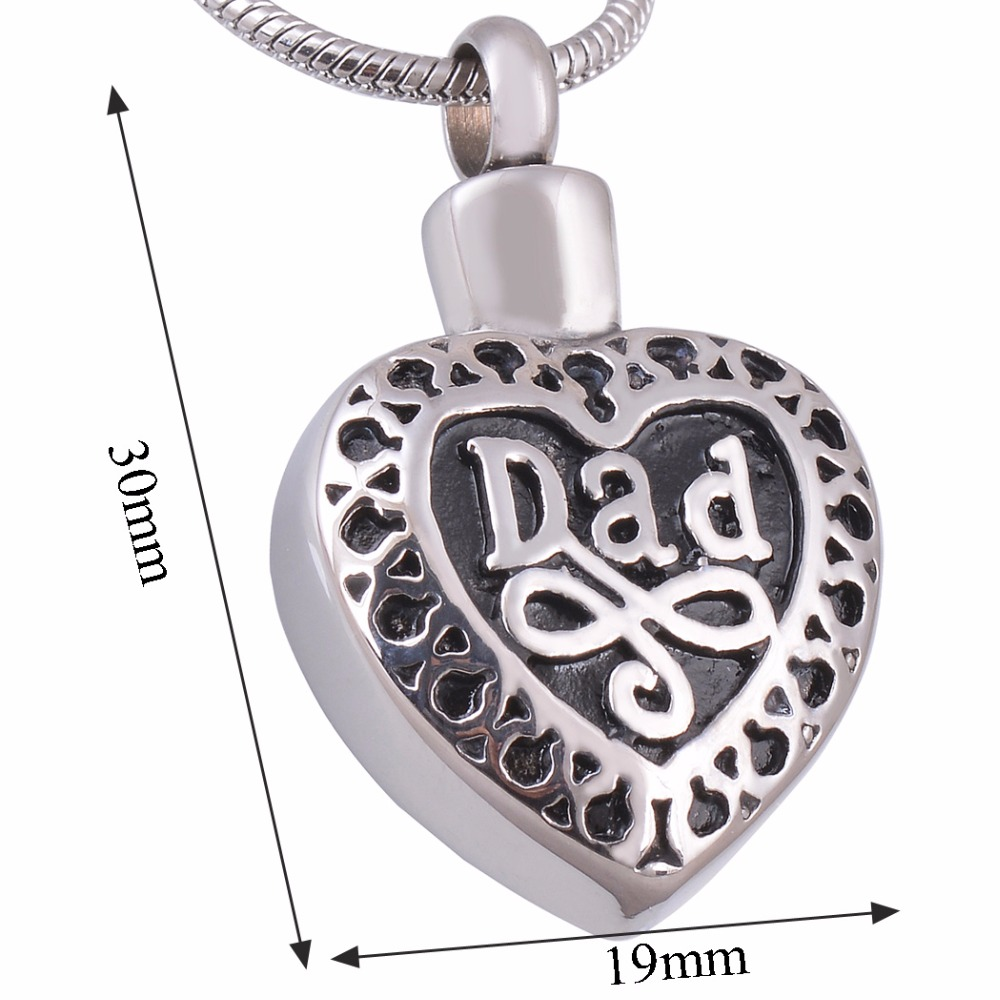 sterling pendant heart products necklace memorial silver