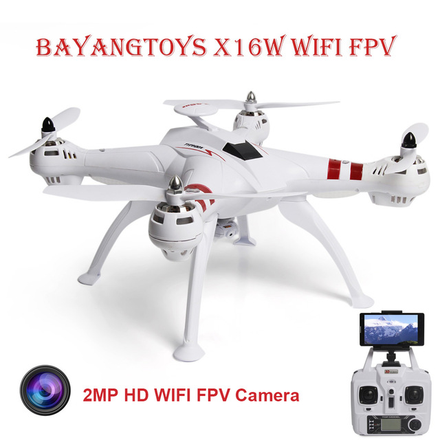 BAYANGTOYS X16 Professionell GPS RC Drone med Cam Borstlös Motor 2.4G 4CH 6Axis Quadcopter RTF Automatisk Retur RC Helikopter