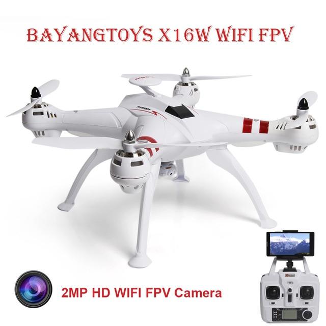 Bayangtoys x16 Professional gps RC Дрон с Cam бесщеточный двигатель 2,4 г 4CH 6 оси Quadcopter RTF автоматический возврат вертолет