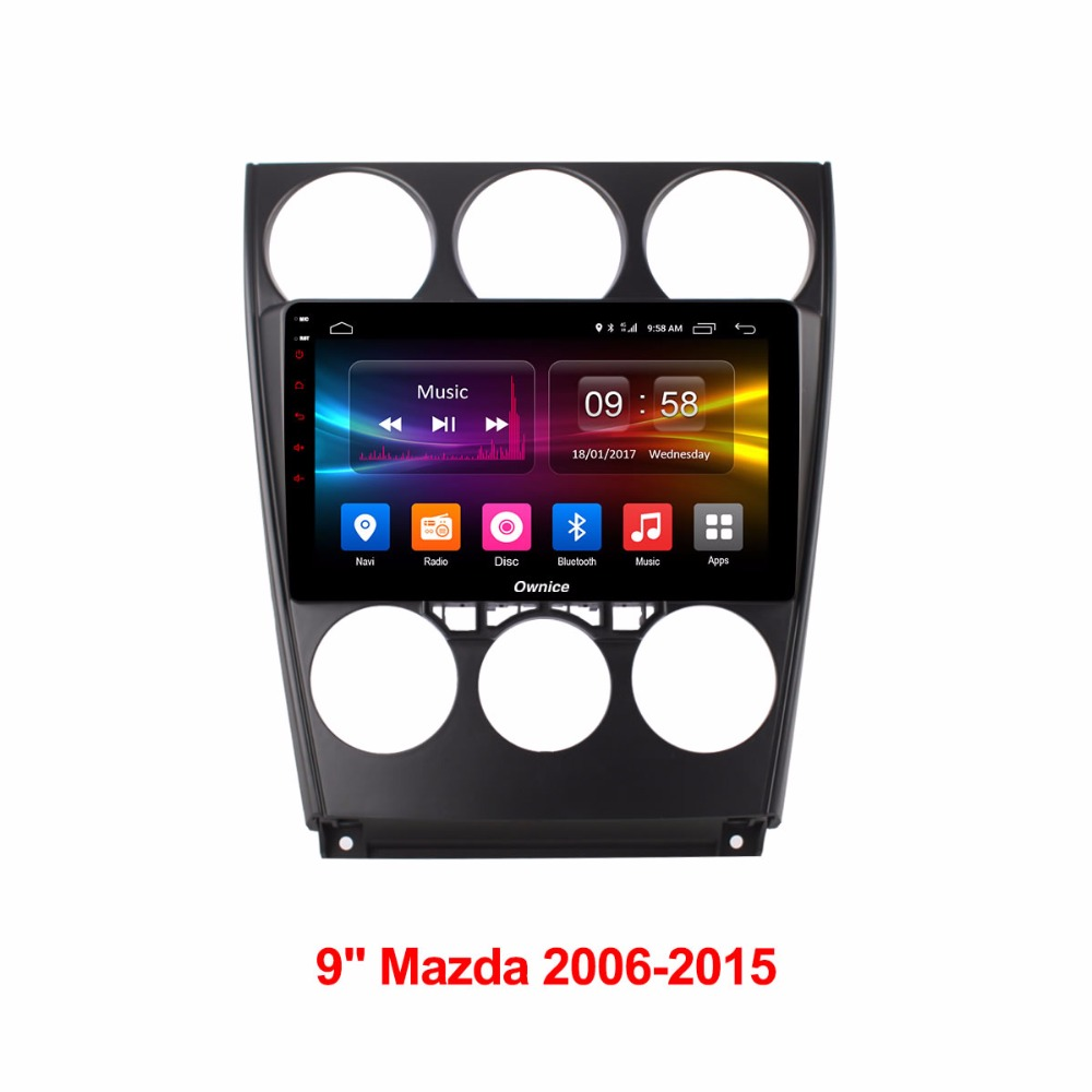 Android Автомобильные GPS-навигаторы навигатор Автомобильные ПК DVD Мультимедиа Видео плеер для Mazda 6 2006 2007 2008 2009 2010 2011 2012 2013 2014 2015