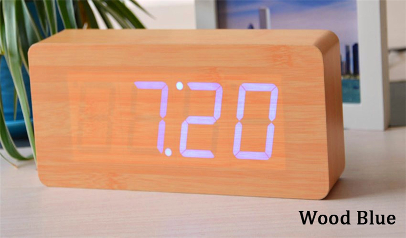 Veliki brojevi Digitalni satovi Vrhunske budilice s temperaturom, - Kućni dekor - Foto 3