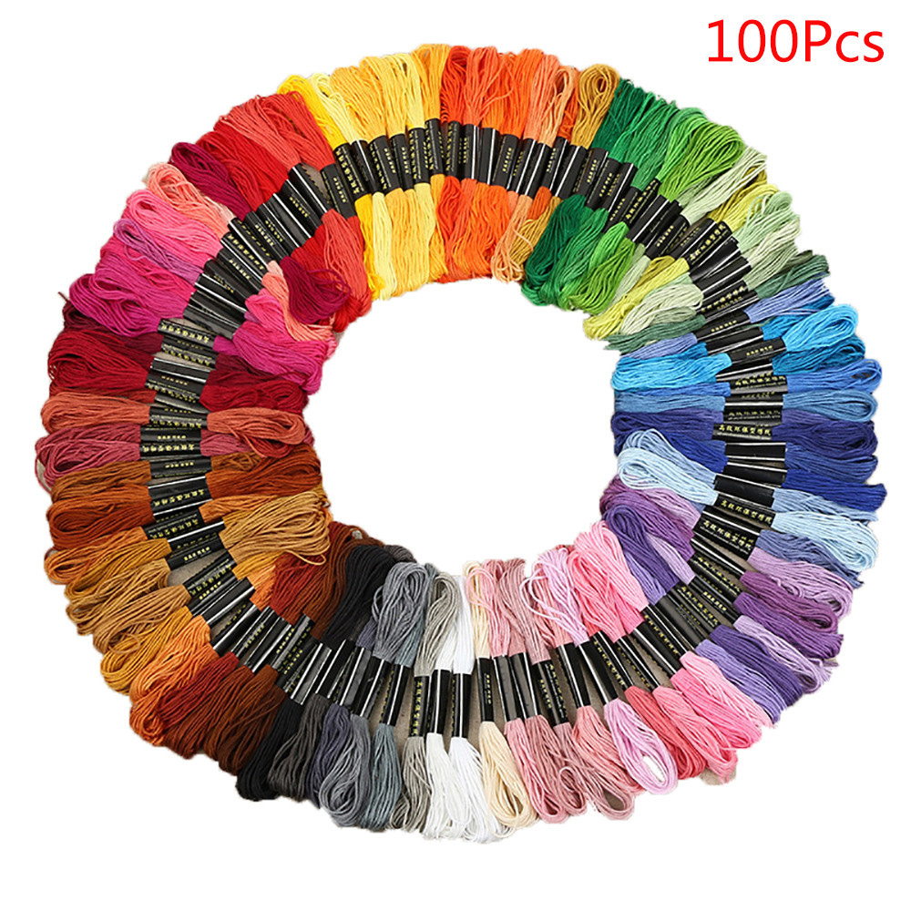 Cxc Threads Thread Premium Rainbow Color Embroidery Floss Cross Stitch Threads  F20