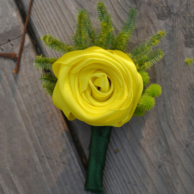 Online shop 12 colour diy wedding groom flowers boutonniere groom 12 colour diy wedding groom flowers boutonniere groom groomfriend best man wedding flower home party bride silk flower corsages mightylinksfo