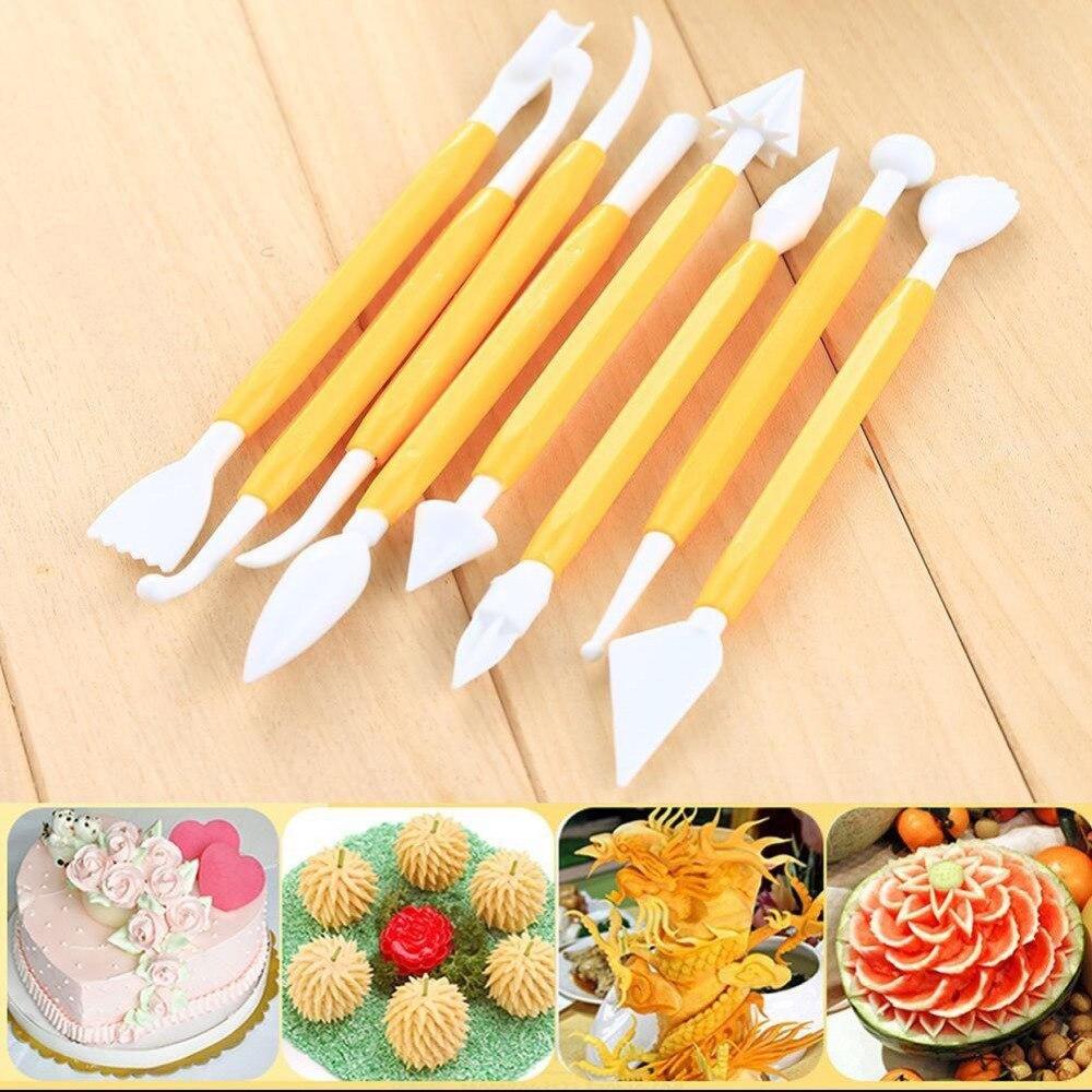 8 unids/lote modelado herramientas Set Cake Decorating galleta hornear azúcar Cr