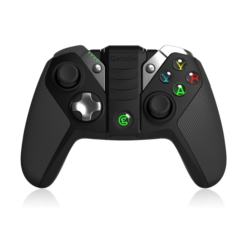 GameSir G4s USB Trådlös Controller Bluetooth Gamepad för Android TV BOX Smartphone Tablet PC VR-spel, 2,4 GHz Joypad