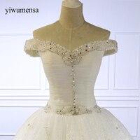 Vintage Wedding Dress Lace Sequined Vestido de Noiva Princesa Bride Dresses 2018 Sweetheart Custom Made Wedding Gowns brautkleid
