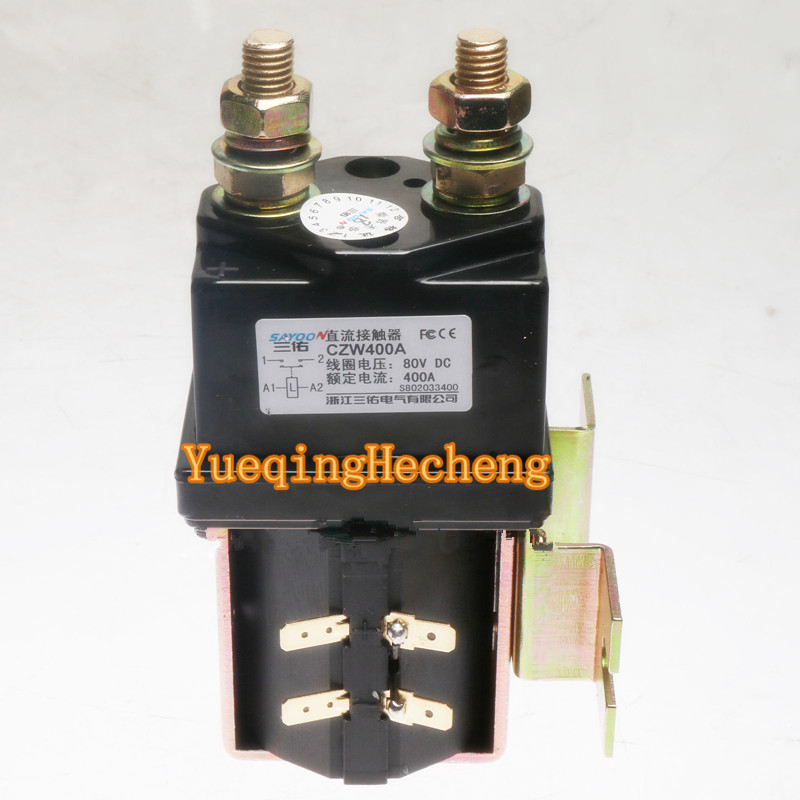 Lifting pump contactor SW200-802 for electric forklift 80V 400A B8SW31 For Albright Free Shipping цена