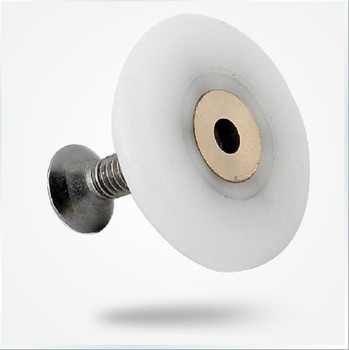 8pcs shower door roller The thickness of4mm wheel diameter:20mm rollers for shower cabins free shipping 8 shower door rollers runners wheels pulleys diameter of the wheel 20mm 27mm shower room pulley