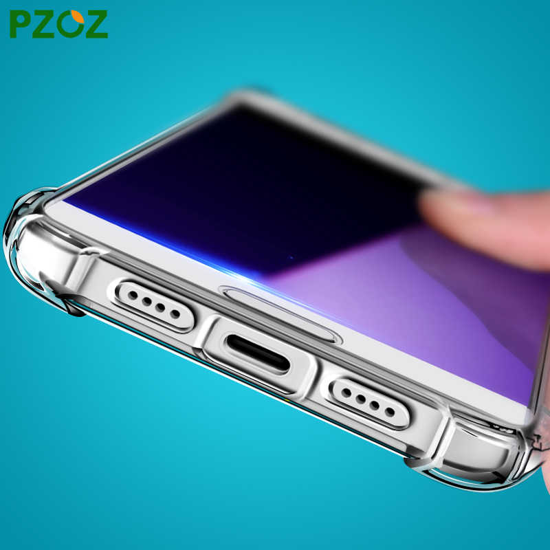PZOZ xiaomi mi A1 A2 Lite étui TPU de luxe antichoc téléphone étui de protection xiaomi mi 5 S 5X6X5 S mi 5 S Plus mi 5x rouge mi 6 Pro