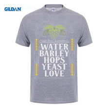 Water Barley Hops Yeast Love T-Shirt / 8 Colors