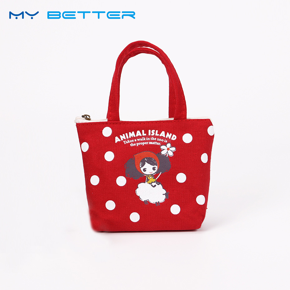 Cartoon Coin Purse for Women Girl Cotton Wallets Zipper Key Case Bag Change Purses Wallet Card Holder Coin Pocket Pouch 2016 sep women wallets zipper short purse clutch coin bag cat wallet women card holder purses carteiras brand women bag