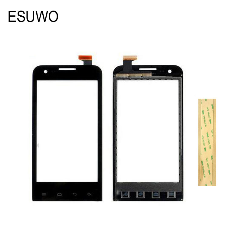ESUWO Touch Screen Panel Touchscreen For Prestigio MultiPhone PAP4040 PAP 4040 DUOl Sensor Front Glass