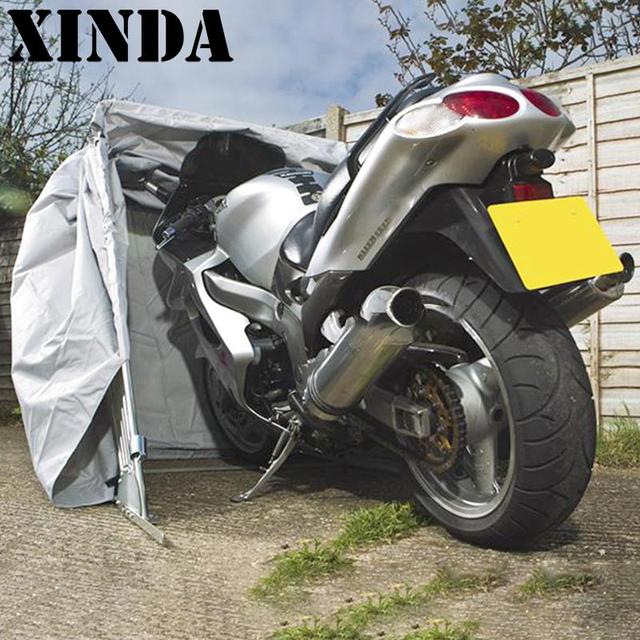 Luxury The Moto Shelter Standard Motorcycle Shelter Storage Cover Tent Outdoor Garage DH0146 & Luxury The Moto Shelter Standard Motorcycle Shelter Storage Cover ...
