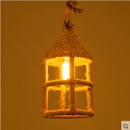 Hemp Rope Edison Pendant Light Fixtures In Style Loft Vintage Industrial Lamp Hanglamp Pendente America Nordic democracy in america nce