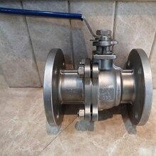 купить Flange Ball Valve Stainless steel Oil Gas Water Ball Valve RF Flange end DN15  PN10 PN16 дешево