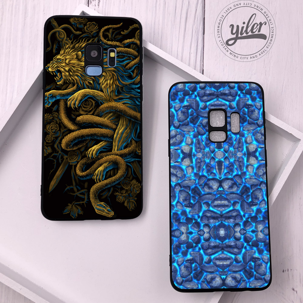 Texture For Coque Samsung Galaxy S8 Plus case for Galaxy S9 Plus Shell Cover for Samsung S7 S7 edge S8 S8 Plus S9 S9 Plus Cover