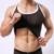 Homem Marca Sexy Malha Transparente Listrado de Fitness Musculação Regatas/Spandex Gay Sheer Undershirts Singlets