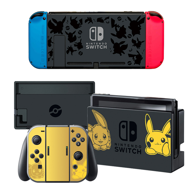 Data Frog Stickers For Nintend Switch Console and Controller Skin Set For Super Smash Bro s 5 Styles Stickers