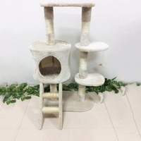 Newest Cat Tree Activity Centre Scratcher Playing Tree Kitten Furniture Scratching Post Sisal Climbing Frame With Toys House Bed