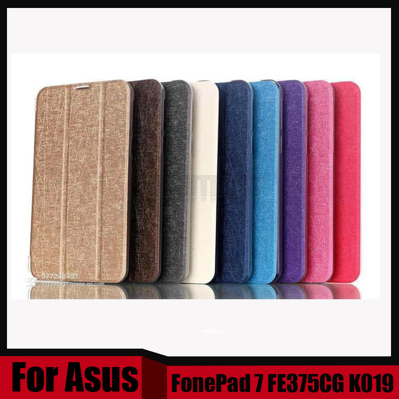 3 in 1 Cover For ASUS FE375CG case Pu Leather Case For ASUS FonePad 7 FE375CG FE375 7 tablet cover case + Stylus + Screen Film