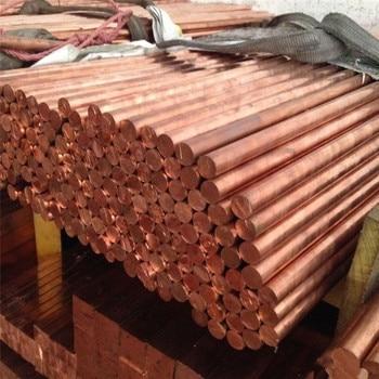 1 Uds YT1354 varilla de cobre longitud 100mm diámetro 10mm barra de cobre envío gratis vender en una pérdida T2 barra de cobre