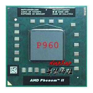 Image 1 - AMD Phenom II Quad Core Mobile P960 1,8 GHz Quad Core Quad Gewinde CPU Prozessor HMP960SGR42GM Buchse s1