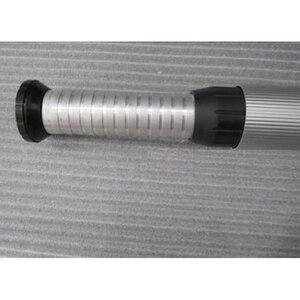 Image 4 - الألومنيوم للطي طوي طاولة قابلة للضبط مكتب منضدي الساق بار قدم RV