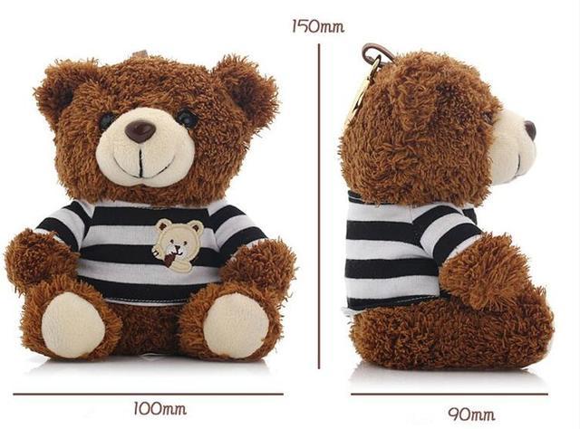 2016 Игрушка Медведь Power Bank 10000 мАч Powerbank Энергии Резервная Батарея Зарядное Устройство Универсальное Для iphone 5 6 s5 s6 Бесплатная доставка