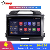 2G RAM 32G ROM 9 inch android 8.1 for KIA Sportage R 2010 2016 Auto vehicle car multimedia GPS navigation system