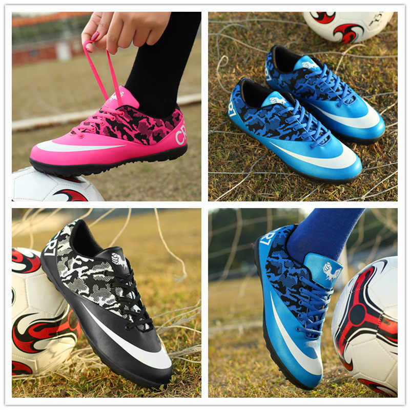 08dec3318 ... ZHENZU Professional Men Football Boots SneakersTurf Indoor Soccer Shoes  Cleats Kids Original Superfly futsal chaussure de