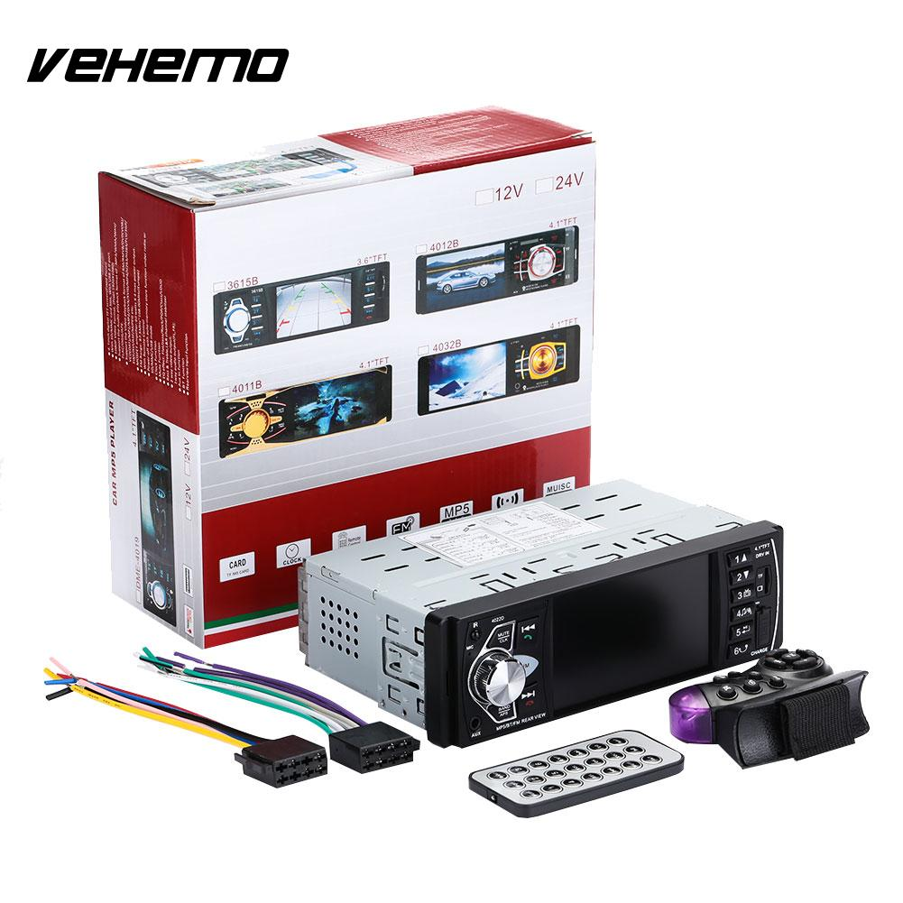 Vehemo Car MP5 Player Audio Video Player 4.1 Inches 1Din Support Rearview Reverse Image Car Radio 4022D шестое чувство 2018 12 13t19 00