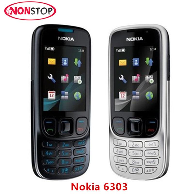 original unlocked 6303c nokia 6303 mobile phone nokia 6303. Black Bedroom Furniture Sets. Home Design Ideas