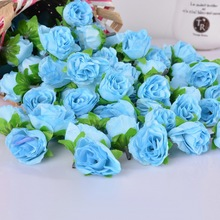 50 pcs Small Roses Flower for Home Decor