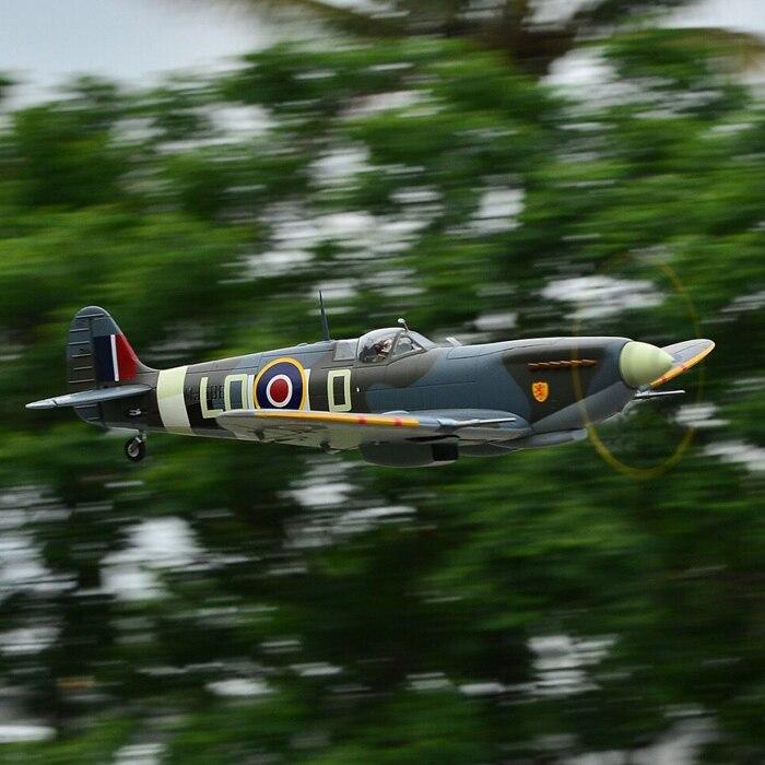 RC Airplane model Freewing Flightline 1200mm wingspan Spitfire PNP