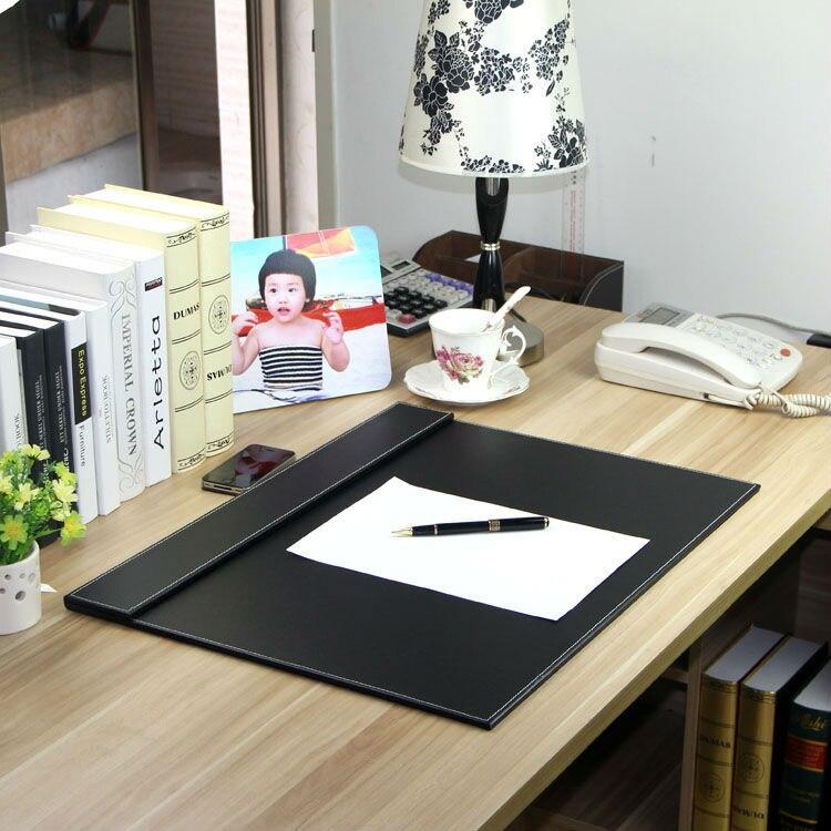 60x45 cm en bois en cuir bureau organisateur tableau d'écriture dossier dossier organiseur de bureau porte-fichiers trombone noir brun 235A