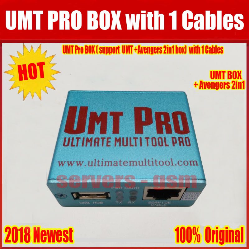 R$ 354 07 5% de desconto|Aliexpress com: Compre 2019 Newest 100% Original  UMT Pro BOX support UMT+Avengers 2in1 Box with 1 USB Cables Free Shipping  de