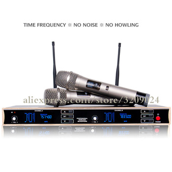 Special Wireless Microphone Karaoke UHF Microphone Sing KTV Special Outdoor Stage Home
