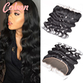 7A Peruvian Body Wave Lace Frontal Closure 13x4 Ear To Ear Peruvian Frontal Lace Closure Human Hair Lace Frontals With Baby Hair
