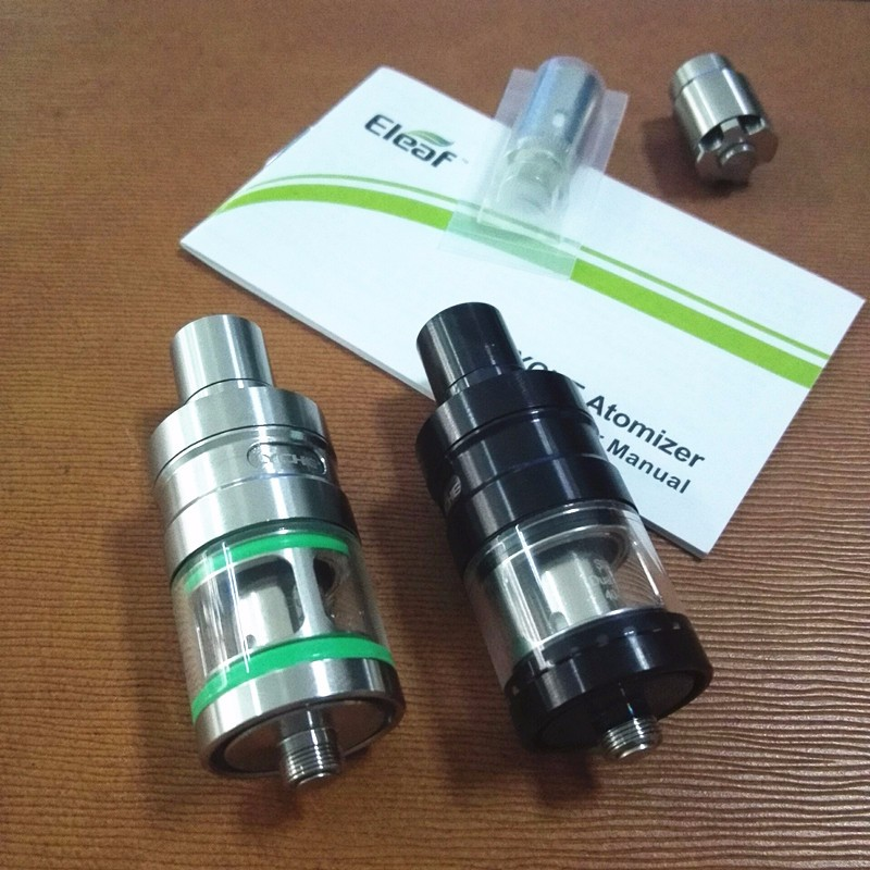 Eleaf LYCHE RBA Kit Clearomizer Sub-ohm balck Silver