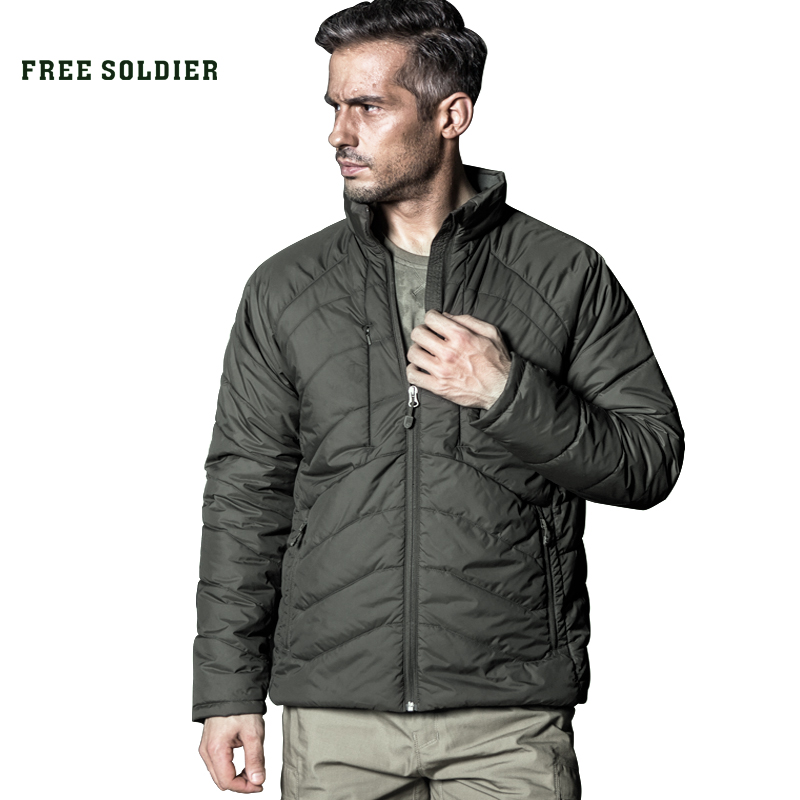 FREE SOLDIER Outdoor Tactical Military Style Hiking Camping Jacket,new Model Of Sports Heat-conserving Jackets/coat
