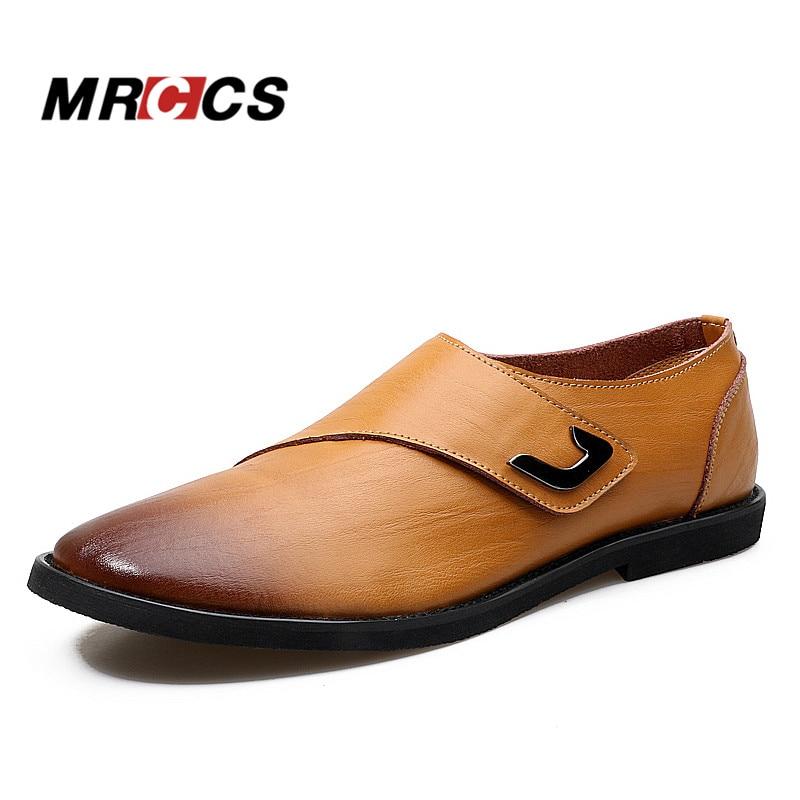 MRCCS New Design Business Shoes For Men,Brown/Black ...