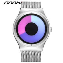 SINOBI Fashion Unisex Wrist Watches Top Luxury Brand Female Geneva Quartz Clock Ladies Wristwatch 2017 Erkek