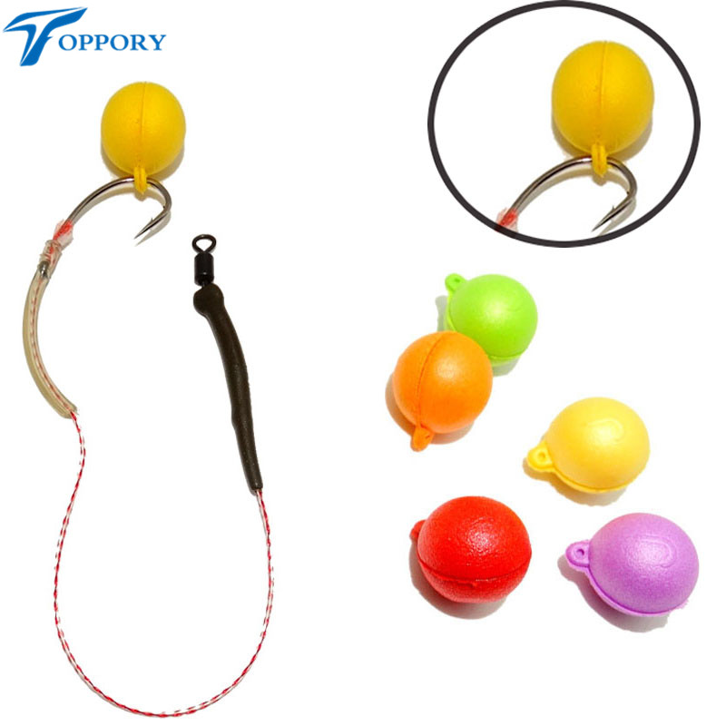 Toppory 14mm Scented Boilies Carp Pop Up Bait Floating Smell Lure Corn Flavor Artificial Baits Hair Rig Terminal Tackle new 100pcs carp fishing corn bait 5 colors soft baits simulation corn soft fishing lure tackles with strong corn smell fa 331
