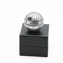1 Stück Neueste 3 Schichten 52 MM Tod Star Wars Tabak Brecher Kreative Sterne Runde Gewürzmühle Ziny Legierung Rauchen Grinder Weihnachtsgeschenk