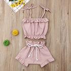 2Pcs Pink Baby Girls...